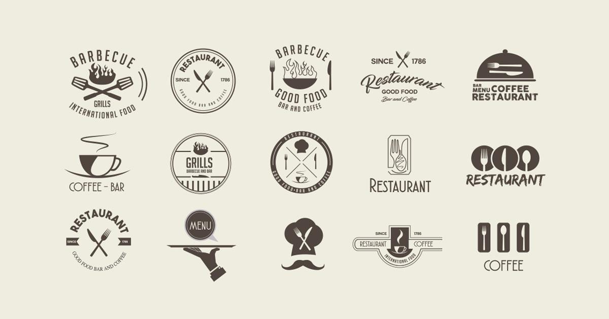 انتخاب لوگو و برند برای رستوران