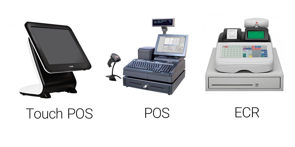 انواع صندوق فروشگاهی ECR / POS / Touch POS