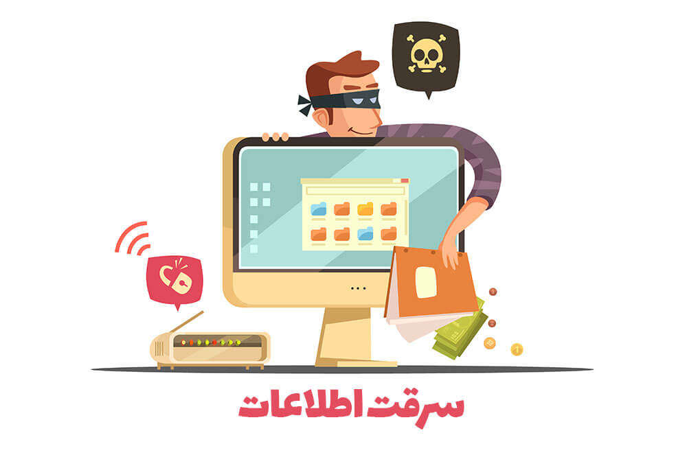 باج افزار چیست (سرقت اطلاعات)