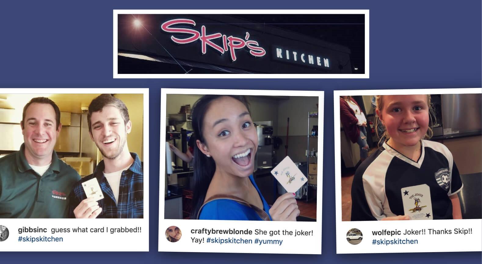 غذای رایگان در روز افتتاحیه رستوران Skip's Kitchen