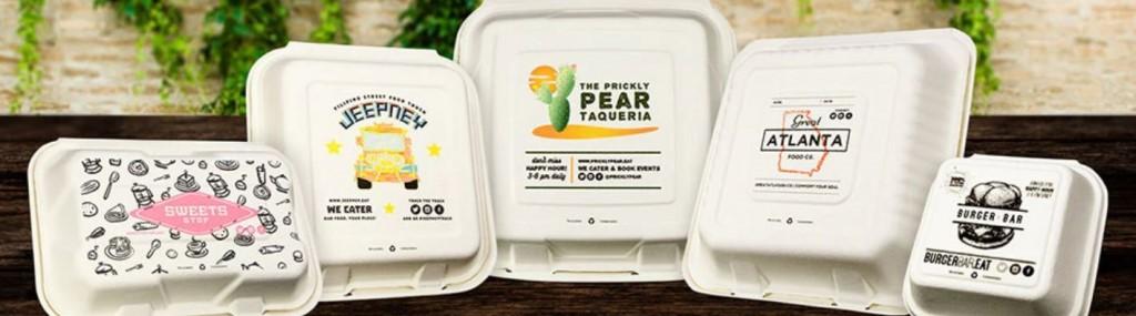 بستهبندی زیبای پک های رستوران با طراحی جالب