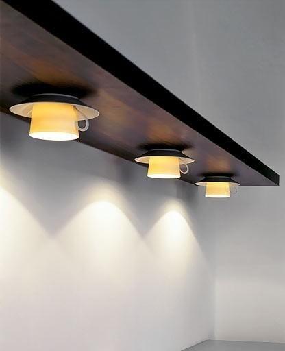 استفاده از تم کافی شاپی فنجان برای نورپردازی