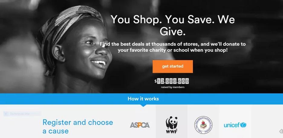 تبلیغ کمک خیرخواهانه در ازای خرید
