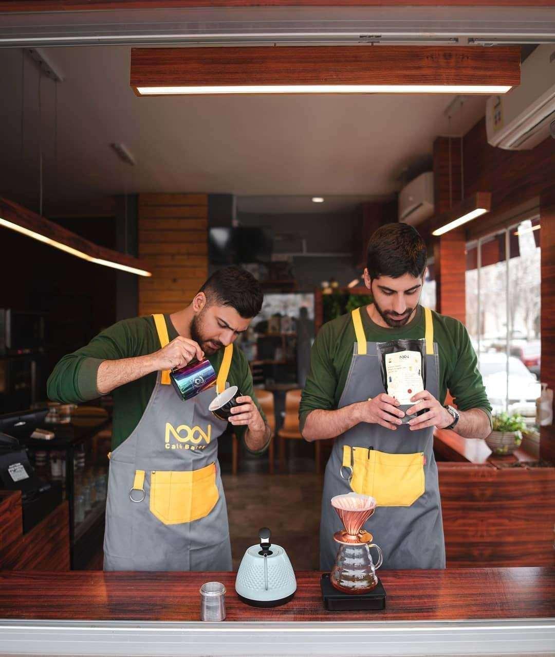 بهترین قهوه بیرون بر مشهد، کافه نون