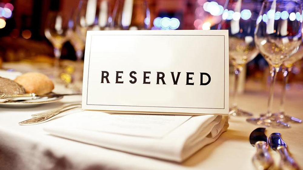 رزرو میز رستوران