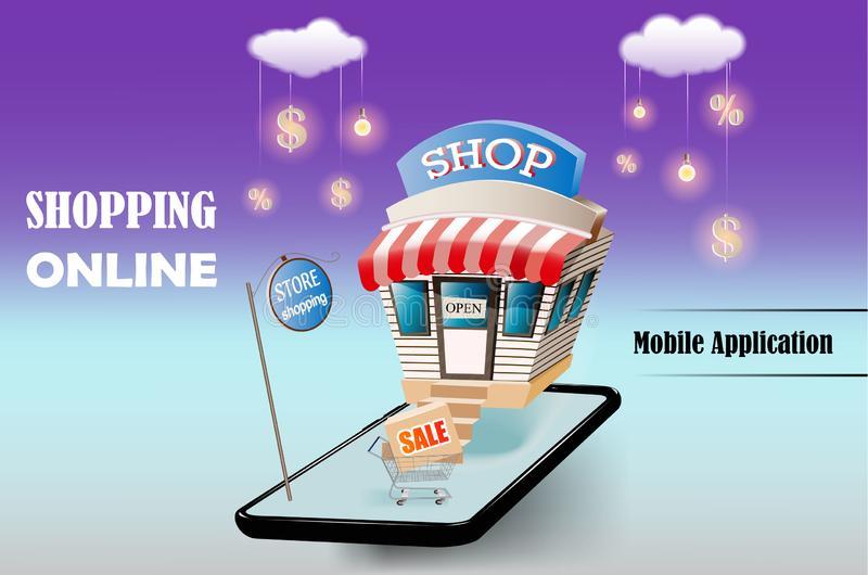 فروشگاه آنلاین و اپلیکشن فروشگاهی